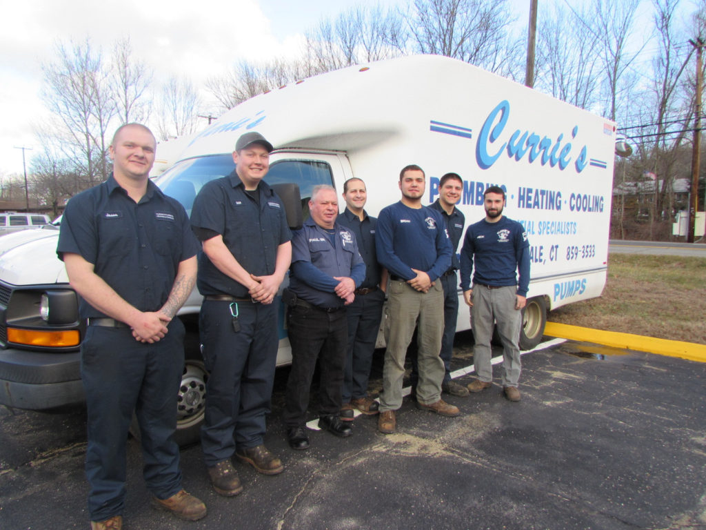 Curries plumbing team