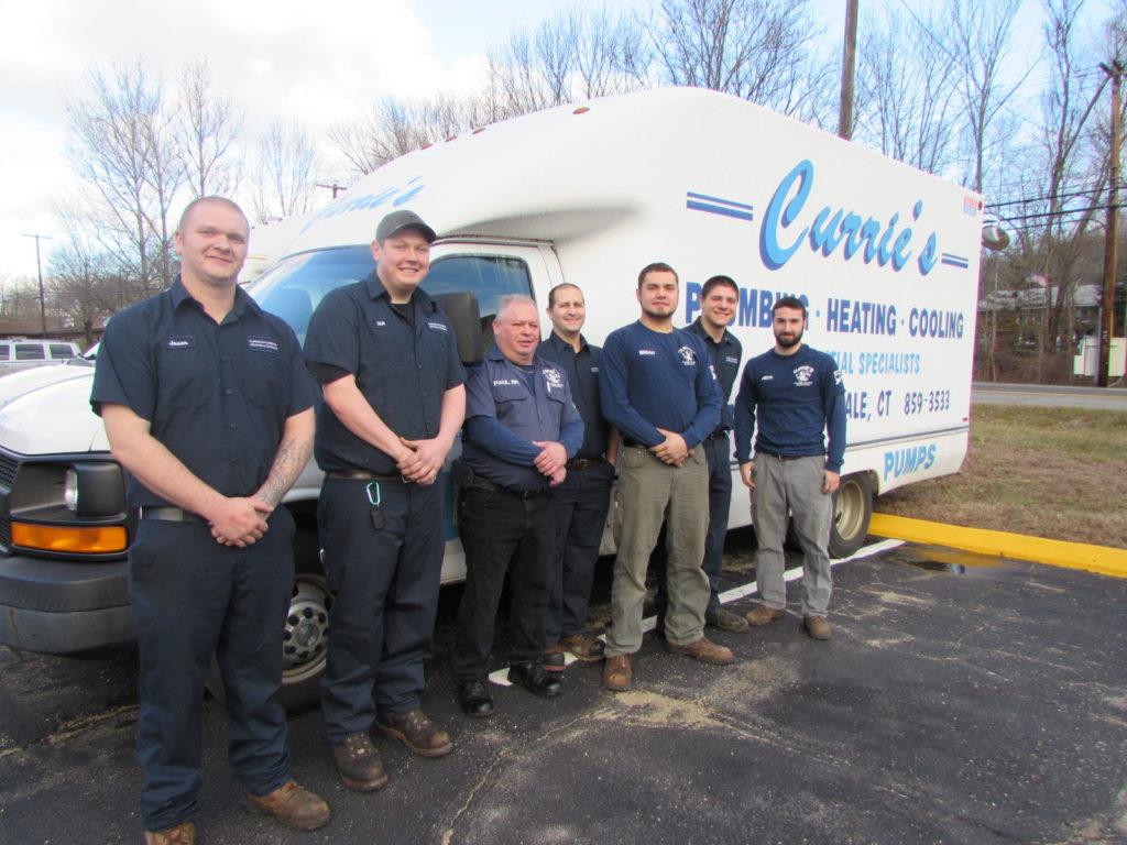 Curries plumbing team